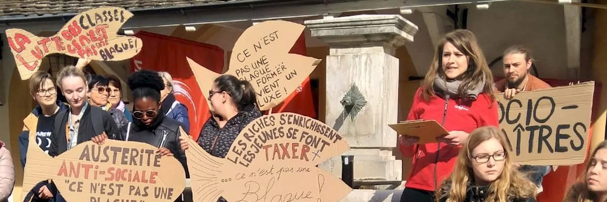 Taxes d'écolage: la mobilisation a payé!